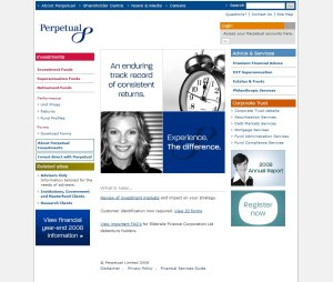 Perpetual home page