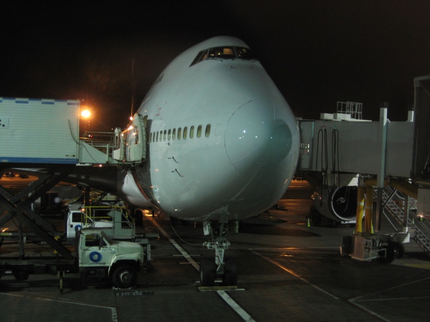 Boeing 474-400 at LAX