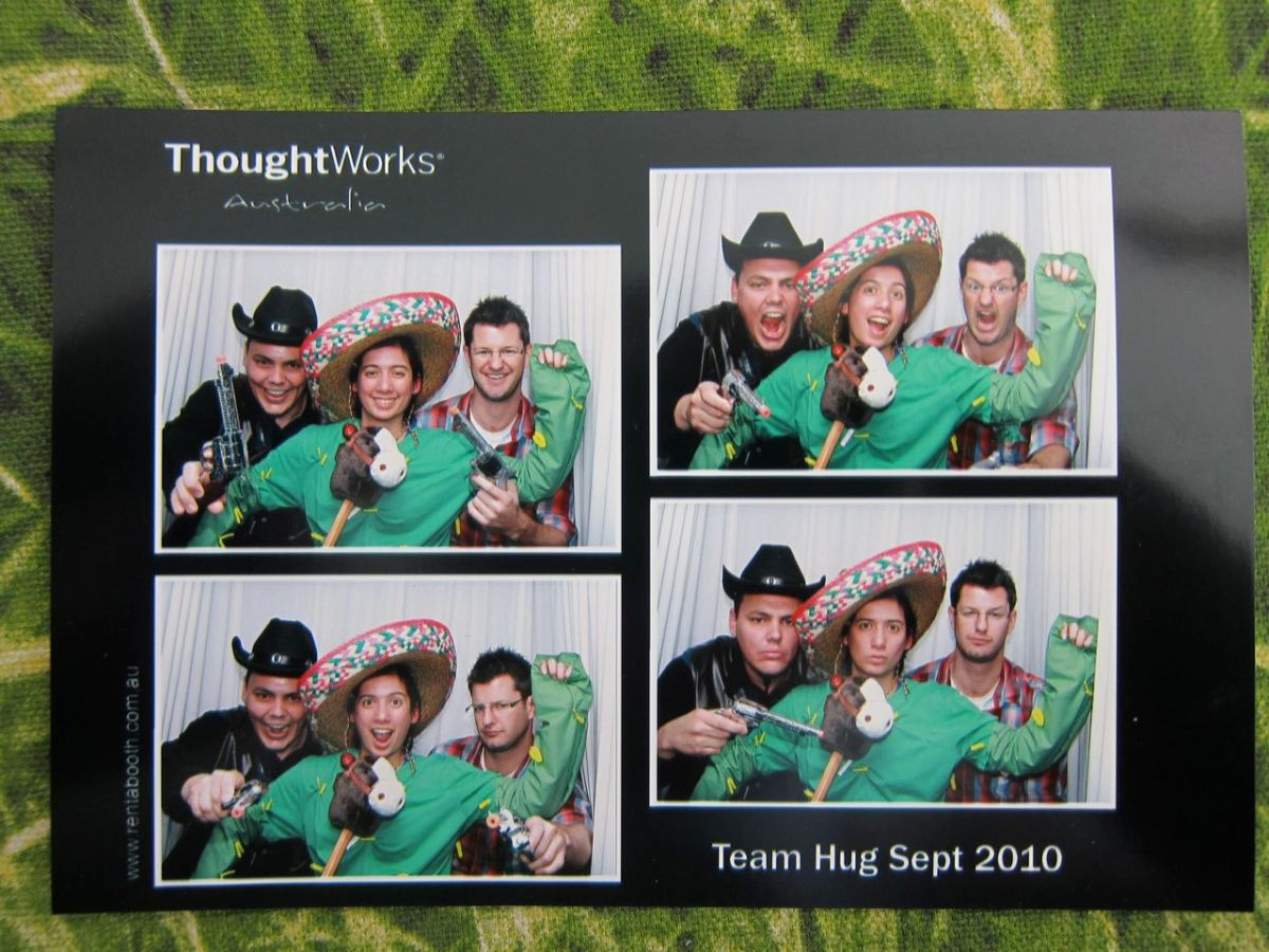 Thoughts on Thoughtworks Australia Team Hug September 2010