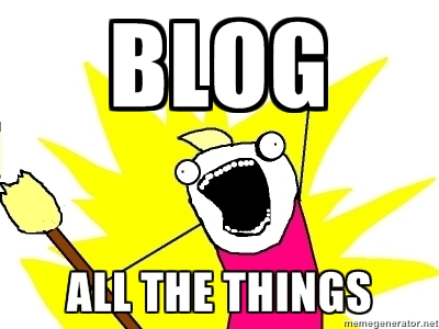 Blog All The Things