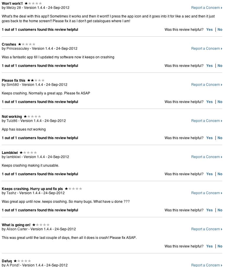 Lasoo iPhone app reviews