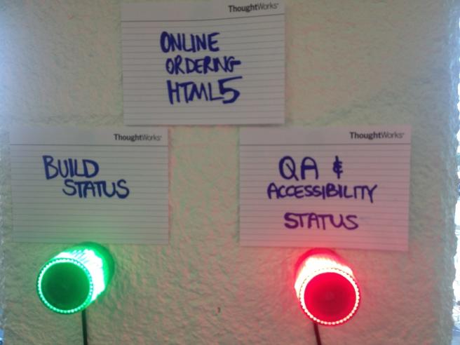 Build Status Lights