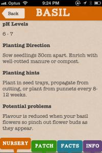 Vegie Guide Basil