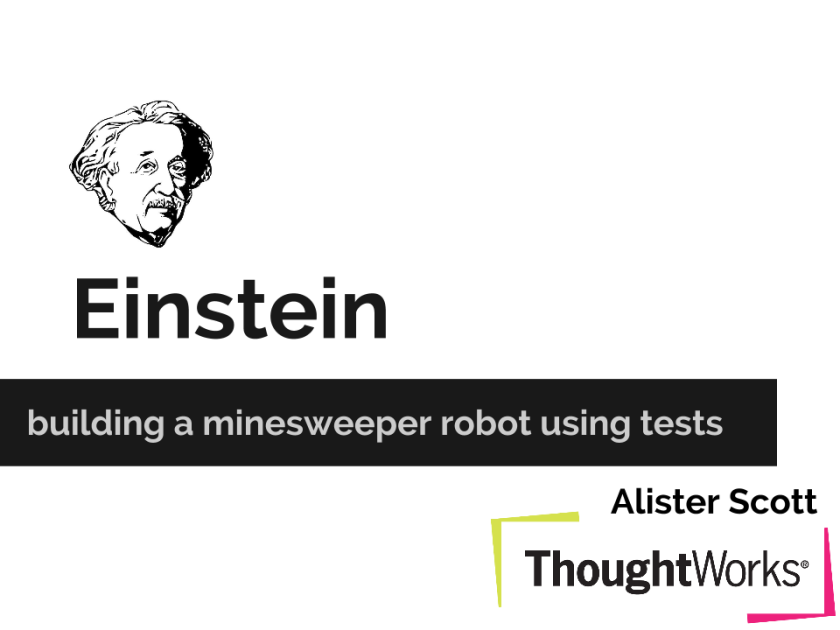 Melbourne SIGIST Einstein_ The Minesweeper Robot