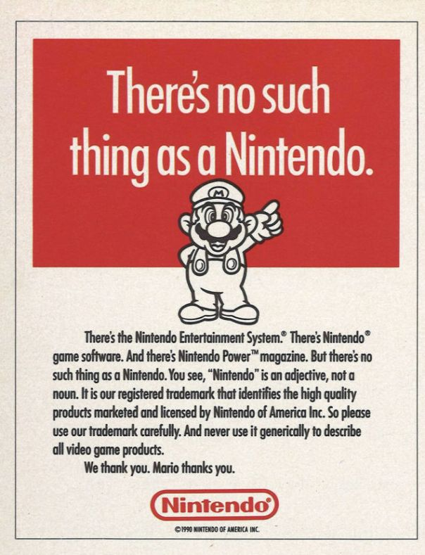 There's no such thing as a Nintendo