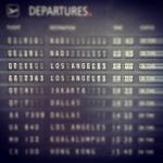 Departing Australia