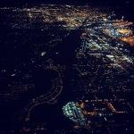 Seattle SEATAC at night