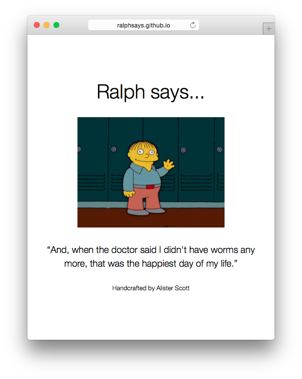 Ralph says...