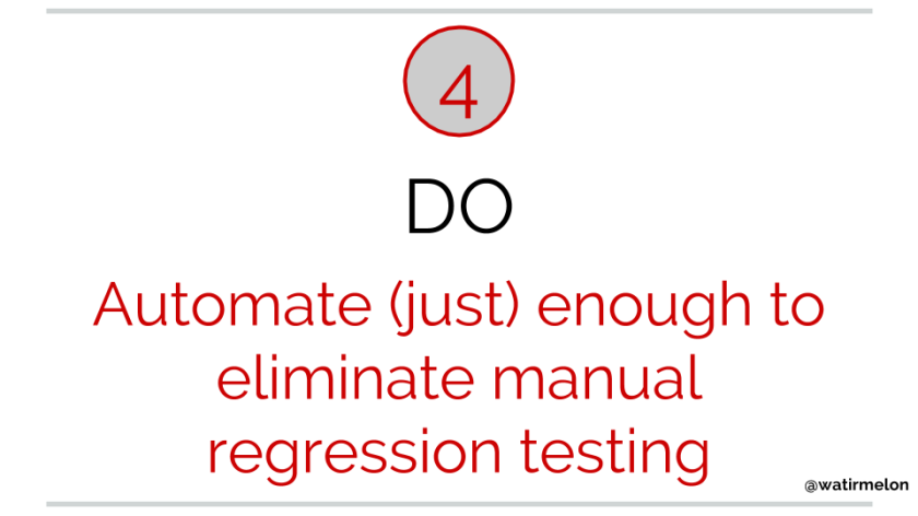 10 do's of automated acceptance testing(10)