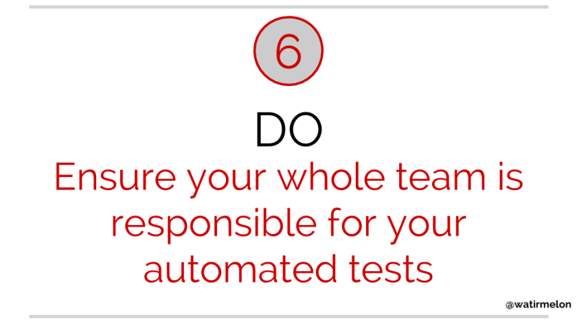 10 do's of automated acceptance testing(12)