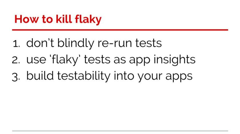 Your tests aren't flaky(8)